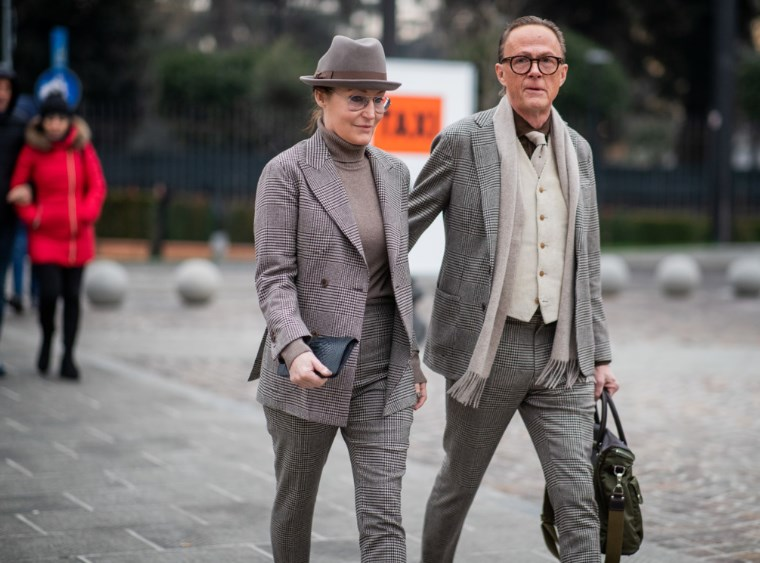 5a26227a733 Streetstyle  самые стильные пары на выставке Pitti Uomo во Флоренции ...